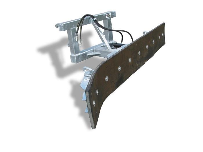 Schmutzschieber Joma-Tech 2550mm, hydr. schwenkbar, Euroaufnahme, verzinkt