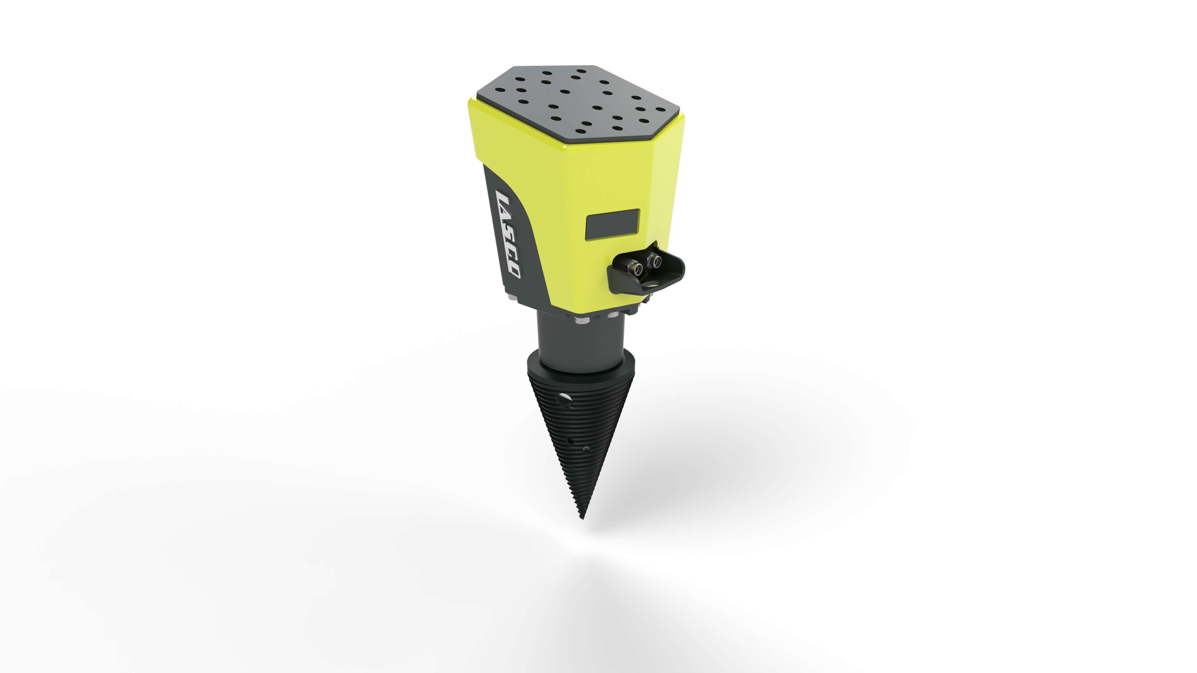 Lasco Kegelspalter D1 LASplit 62.21 optional mit Baggeraufnahme