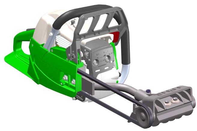 EDER Konturhobel EKH-A56 mit Antriebsmotor