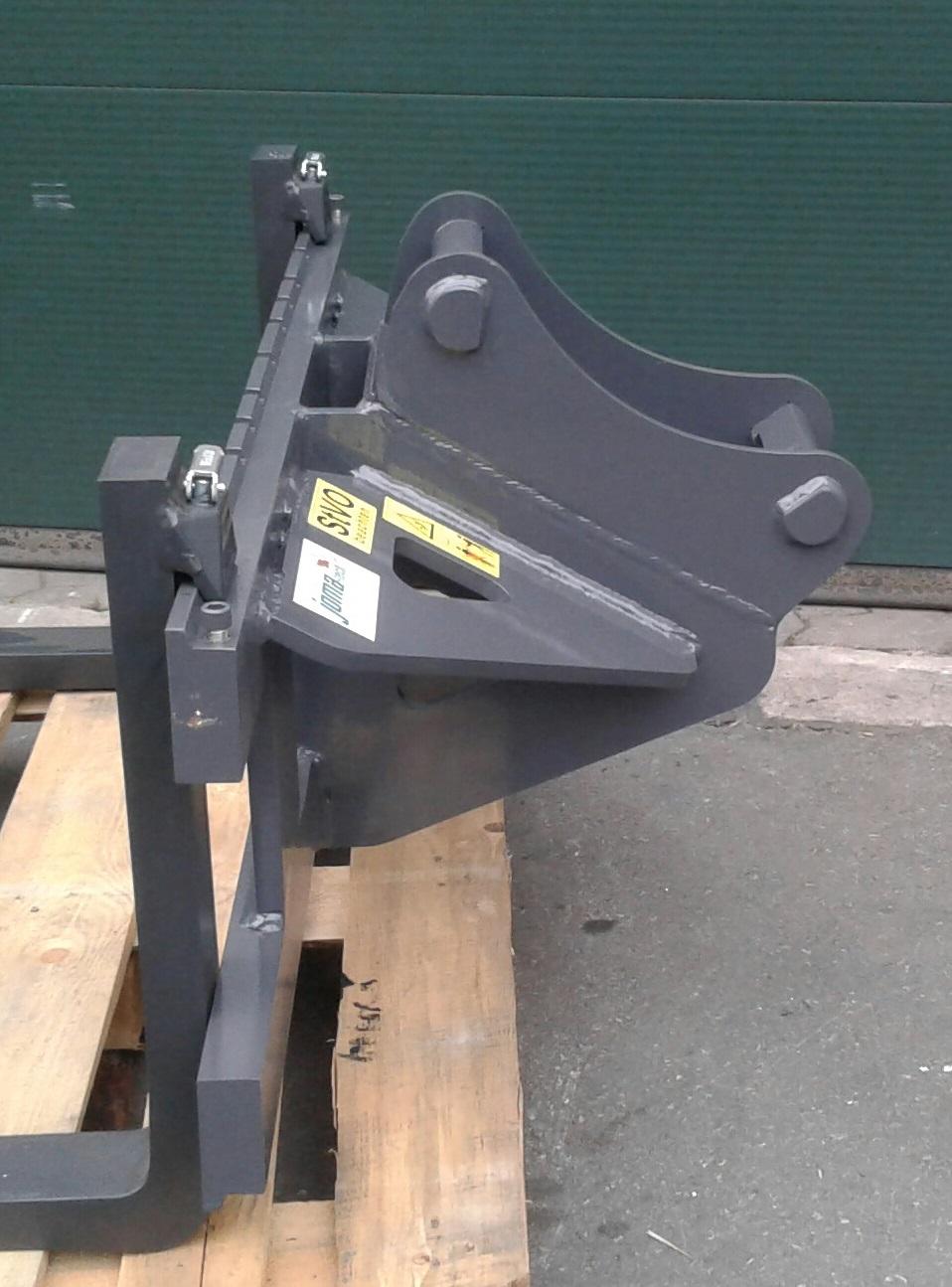 Palettengabel Vetter FEM 2 Baggeraufnahme Lehnhoff MS03 - MS08